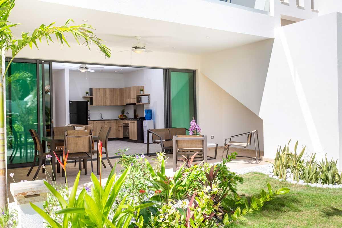 louisa aparthotel dominicana apartamento terraza
