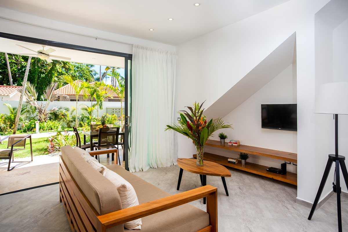 louisa aparthotel dominicana apartamento 1 salon