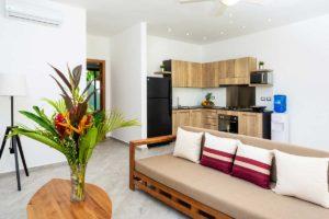 louisa aparthotel dominicana apartamento 1 sofa