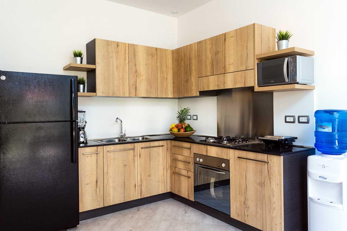 louisa aparthotel dominicana apartamento 1 cocina