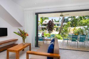 louisa aparthotel dominicana apartamento 2 terraza