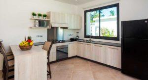 louisa aparthotel dominicana cocina