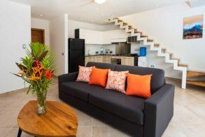 louisa aparthotel dominicana penthouse 1 sofa